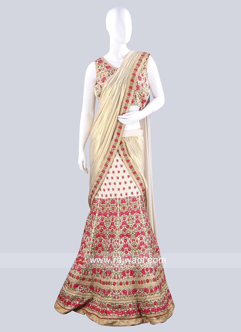 Indian Wedding Lehenga Saree