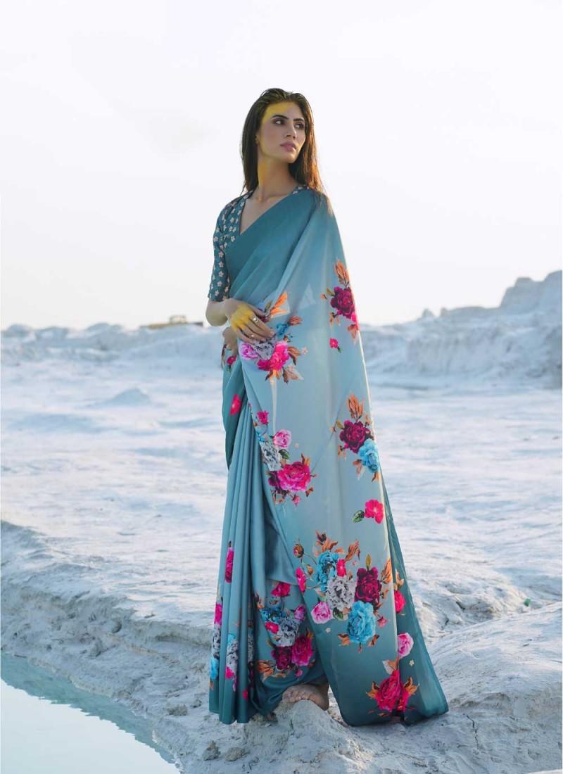 Irresistible Multi Colour Festival Casual Saree