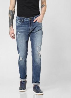JACK & JONES Bluw Low Rise Slim Fit Jeans