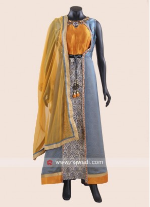 Jacket Style Designer Anarkali Suit