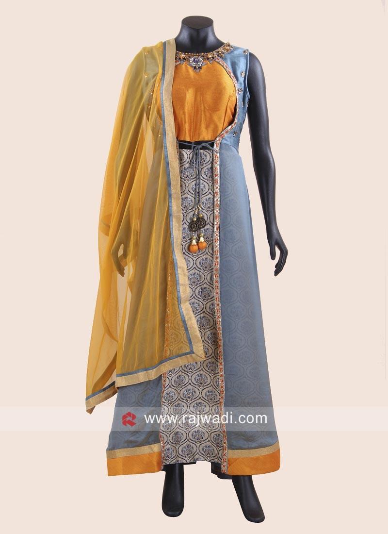 Jacket Style Designer Anarkali Suit