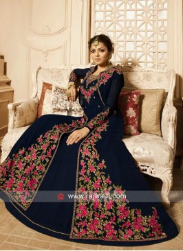 Jacket Style Drashti Dhami Salwar Kameez
