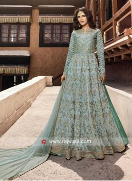 Lehenga Style Heavy Salwar Kameez