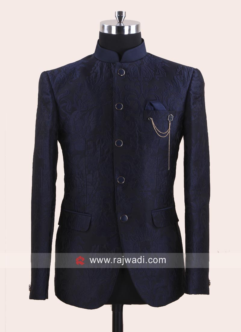 Jacquard Fabric Jodhpuri Set