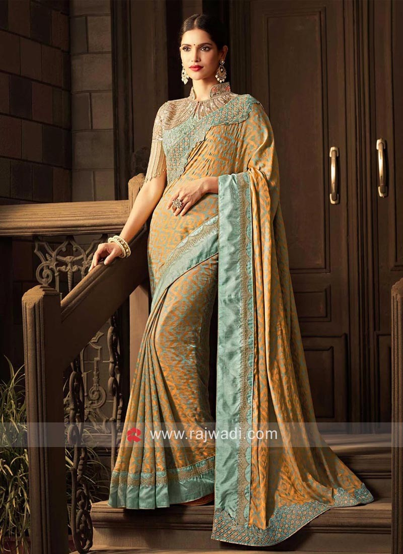 Jacquard Silk Designer Saree