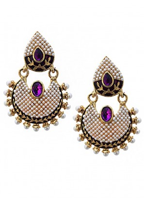 Jewel Splash Dangler Earrings