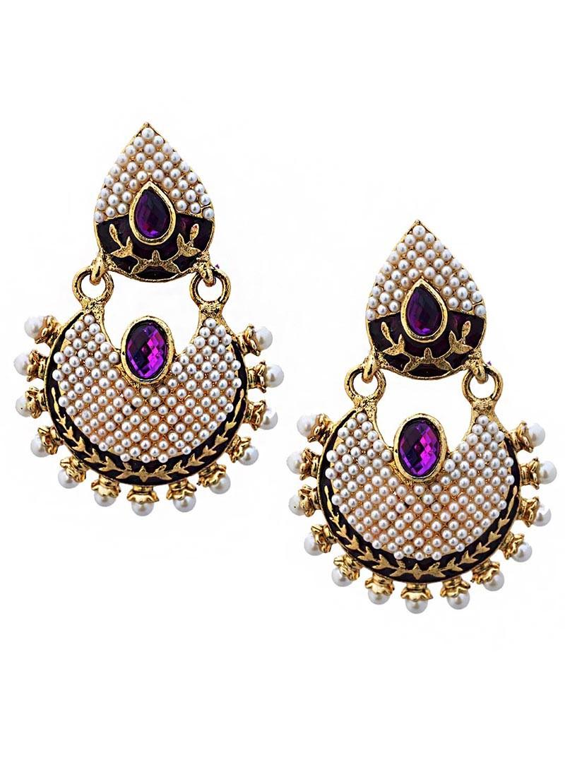 Jewel Splash Dangler Earrings