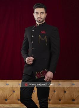 Jodhpuri in Black color