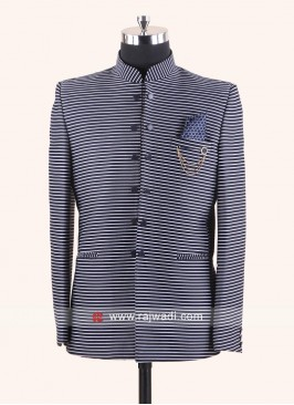 Jute Fabric Jodhpuri Suit