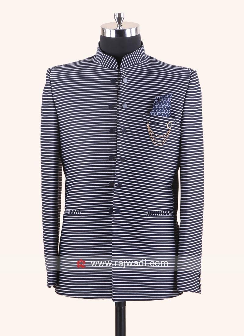 Jute Fabric Jodhpuri Suit