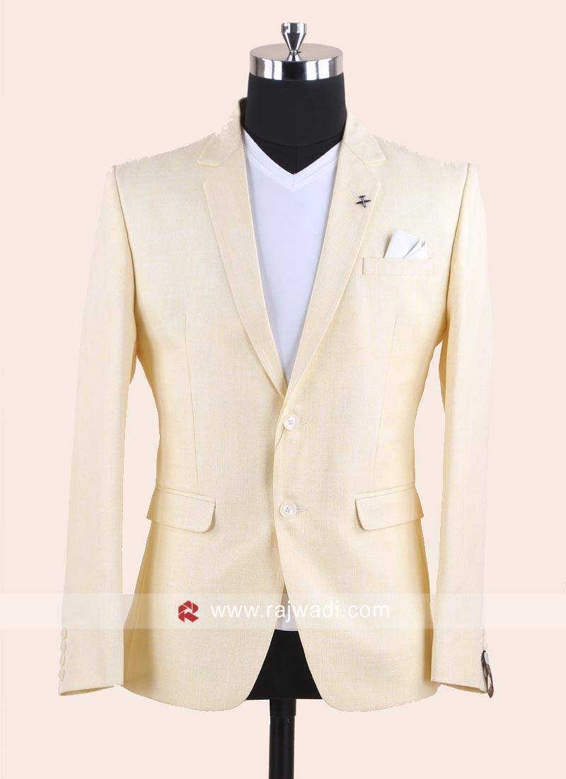 Juth Silk Fabric Blazer