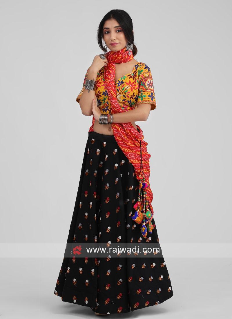 Kachhi Work Chaniya Choli