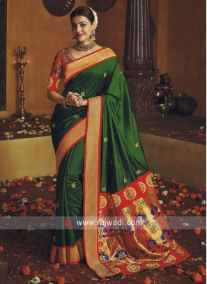 Kajal Aggarwal Art Silk Saree