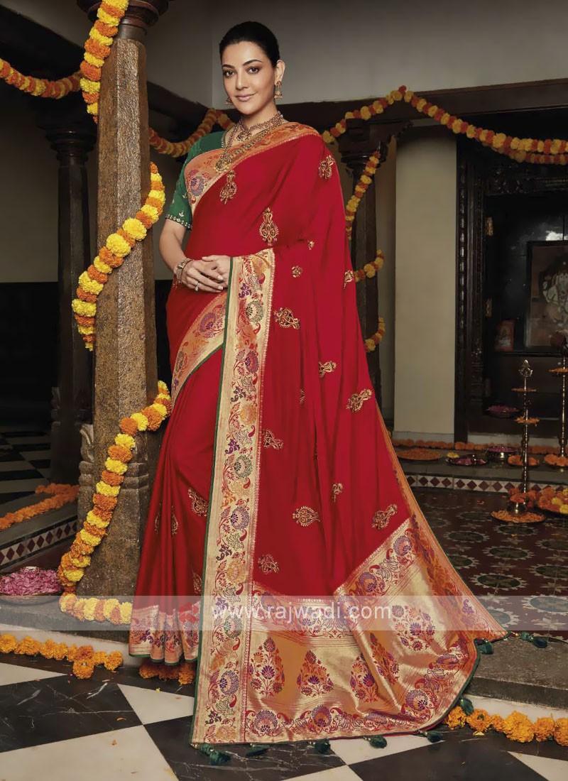 Kajal Aggarwal Bollywood Saree