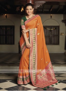 Kajal Aggarwal Bollywood Saree
