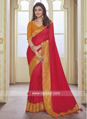 Kajal Aggarwal Wedding Designer Saree