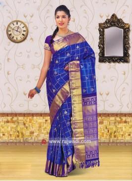 Kancheepuram Silk Designer Saree