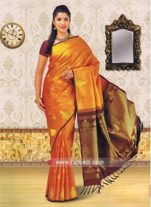Kancheepuram Silk Saree with Blouse