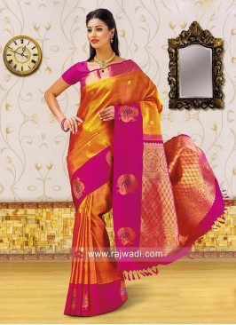 Kancheepuram Silk Weaving Saree