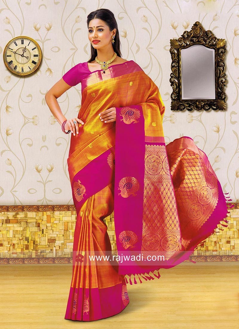 Kancheepuram Silk Weaving Saree