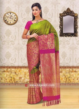 Kancheepuram Silk Wedding Saree