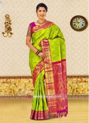 Kancheepuram Silk Wedding Saree