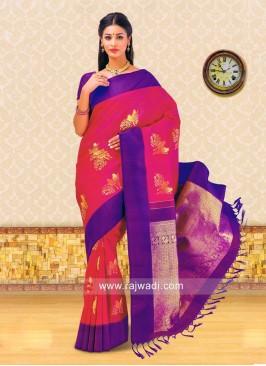 Kancheepuram Silk Woven Saree