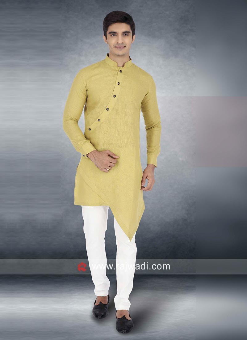 Khaki Color Kurta Pajama