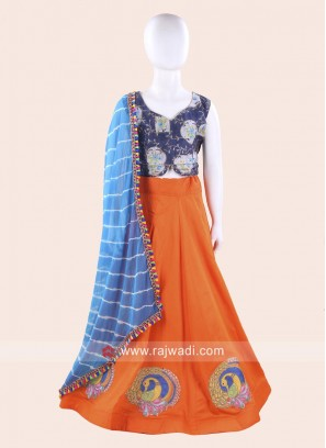 Kids Chaniya Choli For Navratri