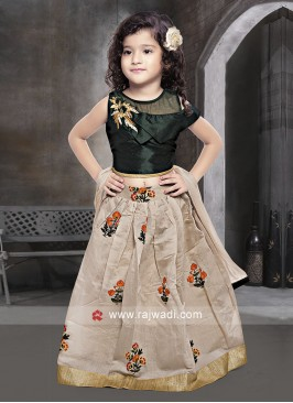 Kids Choli Suit with Dupatta