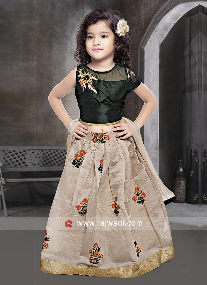 Kids Choli Suit with Dupatta