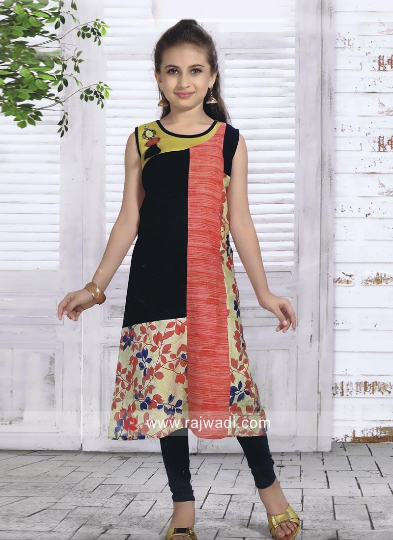 Kids Summer Wear Kurta Set