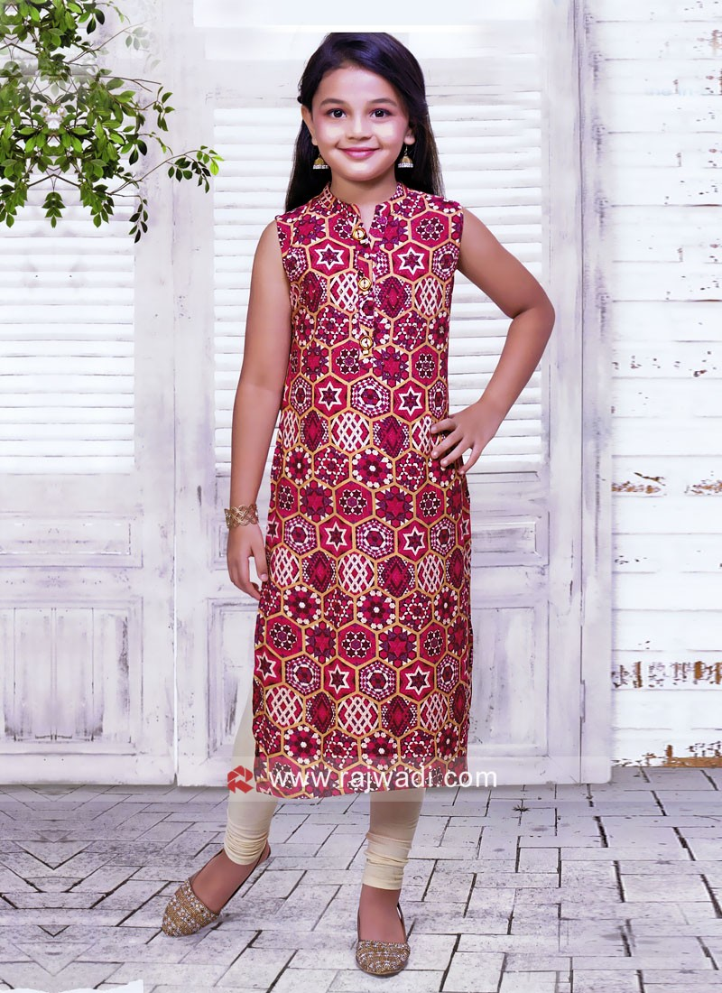 Kids Summer Wear Kurta Set