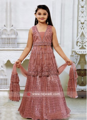 Kids Wedding Lehenga Choli