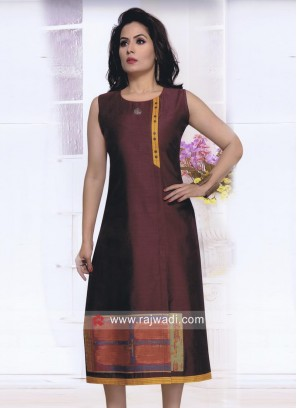 Knee Length Designer Tunic