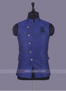 Unique Design Koti In Royal Blue