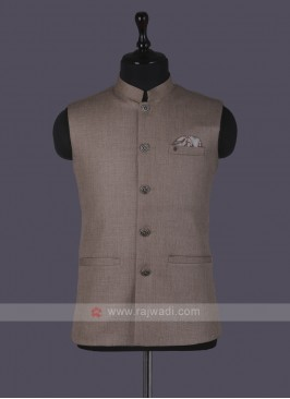 Sobar Art SIlk Nehru Jacket