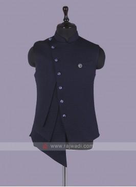 Stylish Navy Blue Koti