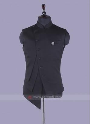 Stylish Black Nehru Jacket
