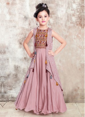 Koti Style Gown For Girls