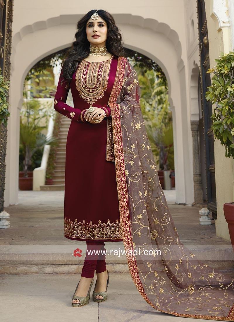 Kritika Kamra Stylish Churidar Suit
