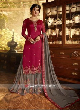 Kritika Kamra Embroidered Gharara Suit
