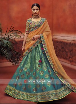 Kundan Work Exclusive Lehenga Set