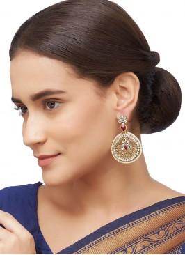 Kundan Work Womens Earing