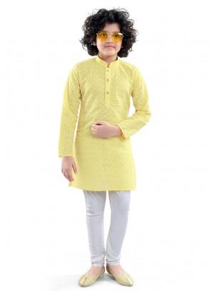 Kurta Pajama In Yellow