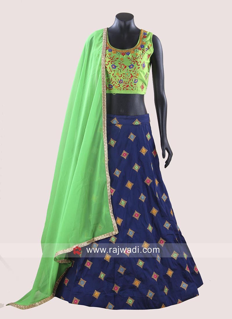 Kutchi Work Chaniya Choli with Dupatta