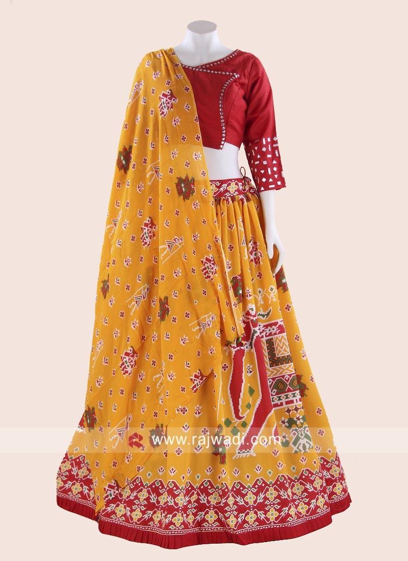 Kutchi Work Designer Chaniya Choli