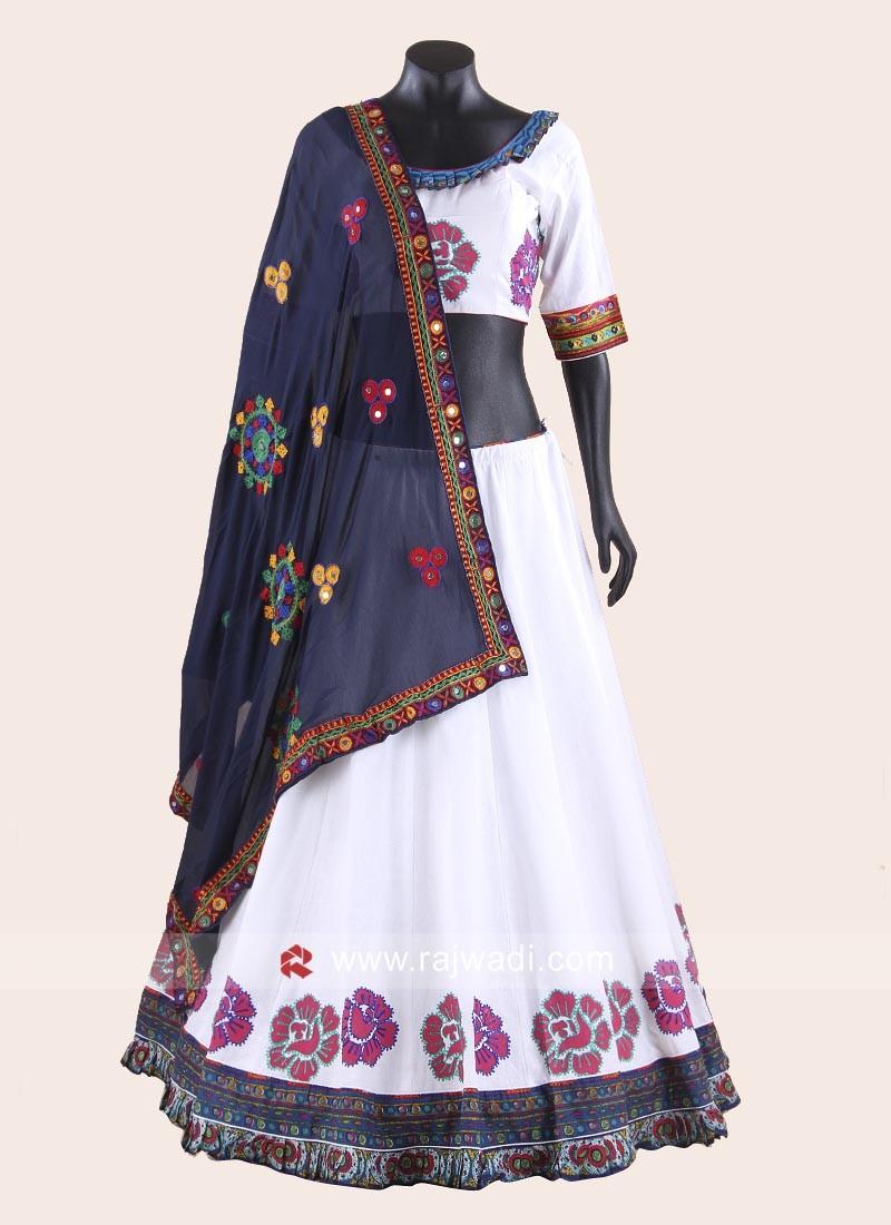 Kutchi Work Navratri Chaniya Choli