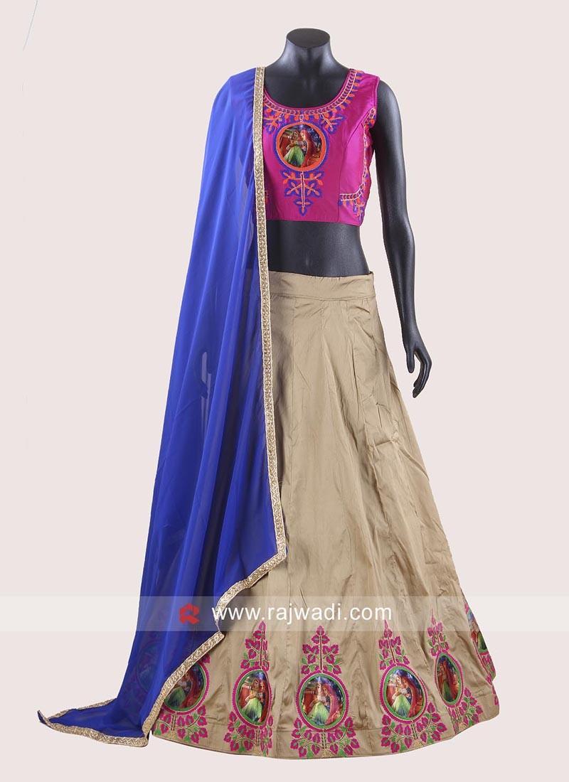 Kutchi Work Readymade Chaniya Choli