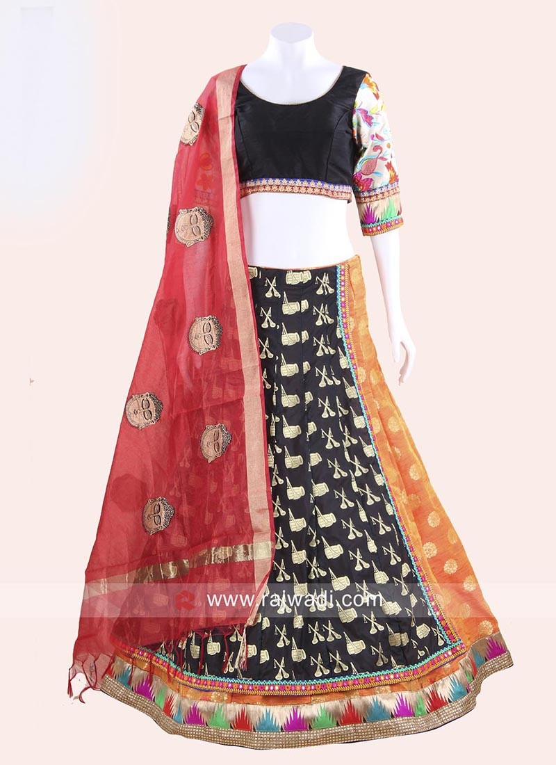 Kutchi Work Stitched Chaniya Choli